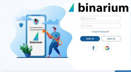 How to Register Account in Binarium