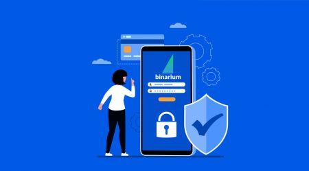 How to Verify Account in Binarium